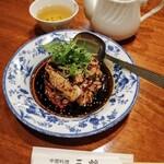 151735320 - よだれ鶏とジャスミン茶