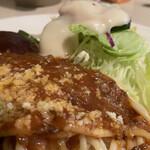 カリー軒 - ミートソーススパゲティ