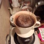 焙煎コーヒー豆ベースキャンプ - ふっくら膨らみました