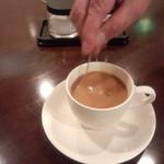 焙煎コーヒー豆ベースキャンプ - おすすめのミルクも用意がありました