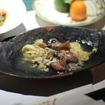 里の湯 和らく - 前菜 蛍烏賊卵〆