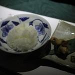 里の湯 和らく - 地元無農薬米
