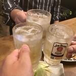 餃子のとりいちず酒場 - 乾杯(2021.4.17)