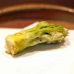 瞬 - たらの芽の天ぷら