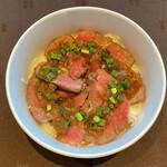 グリルブッフェ&レストラン・バー オードリー - ラム肉グリル丼
