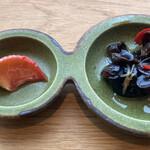 ブリル飯店 - 小前菜2種