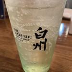 餃子酒家 照井 - 白州ハイボール