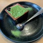 味の民芸 - 抹茶の宝箱 ¥450