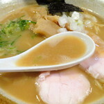 ようすけ 鶏煮亭 - スープ