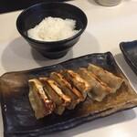 ゴル麺。 - 餃子ライスセット