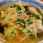天福飯店 - 野菜ラーメン 650円