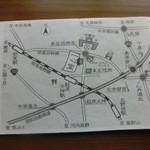 一心堂 - 地図