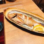 魚食処 一豊 - のどぐろ塩焼き