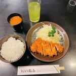 Tonkatsuniimura - とんかつ にいむら 本店@新宿 ロースかつランチ(1030円)