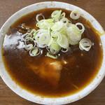 新井屋 - 料理写真:「カレー南蛮」610円