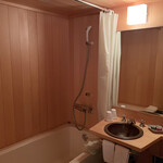 柚子屋旅館 - 部屋(浴室・洗面台)