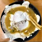 もっこす - 料理写真:みそチャーシューメン 1,050円 肉の海、肉の花。