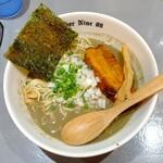 麺ダイニング ナンバーナイン 09 - 料理写真:にぼし中華そば