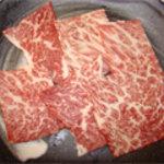 焼肉ハウス21 - 和牛炙りカルビ
