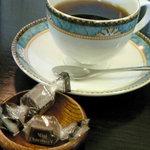 菰野 珈琲倶楽部 - コーヒーにチョコがつきますv
