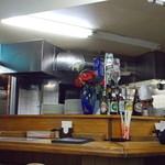 テトゥリア - 店内厨房付近