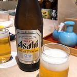 魚釜 - 瓶ビール