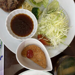 エルパソ - 料理写真:ハンバーグ定食
