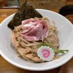 馳走麺 狸穴 - 濃厚魚介つけ麺880円