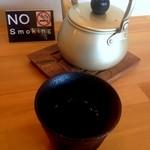 忍庵 - 最初にお茶が提供
