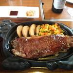 ステーキレストラン 味蕾館 - 和牛サーロイン200g