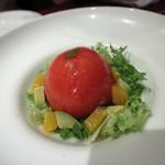 セレブ・デ・トマト - 2)完熟トマトサラダ