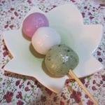 玉屋餅 - 料理写真:三色団子