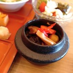 ホテル松本楼 - 料理写真:セルフ釜飯