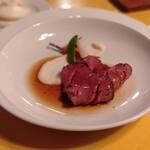 洋風旅館 ぴのん - 料理写真:ローストビーフをね、