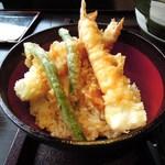 Kagonoya - ミニ海老天丼