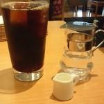 カフェ モロゾフ - パスタセットのアイスコーヒー!!