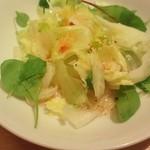 カフェ モロゾフ - セットの野菜サラダ!!
