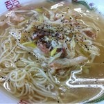 博多金龍 - ネギ豚塩ラーメン(光店限定)