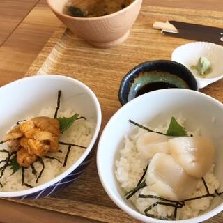 UMICOCO - 料理写真:ちょいマイ丼 ¥1,800(税込)