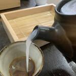 きむら - トロトロの蕎麦湯