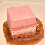 チョコレートショップ 博多の石畳 - 苺の石畳(378円)