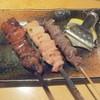ねぐろ - 料理写真:上レバー210円、正肉180円、砂肝130円