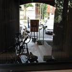 珈琲まめ坊 - 2012年10月。窓から。その2。