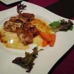 欧風酒場ケンジ - 若鶏もも肉炭火焼 ディアブロ風