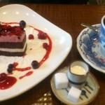 15184927 - ベリーとイチゴのケーキ