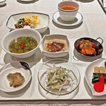 翆陽 - 魯肉飯と中華惣菜のプレート