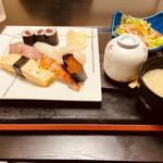 たなか寿司 - 上にぎりランチ