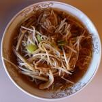 鎌倉赤坂飯店 - 8 搾菜肉絲湯面 ザアサイルースタンメン 細切り豚肉と四川漬入りそば