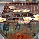 しゃりん - ホタテ焼 & サザエのつぼ焼