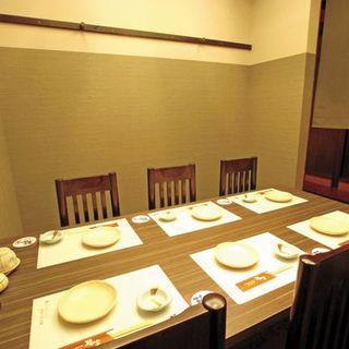 まわりを気にせず、落ち着いてお食事をお楽しみください!